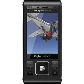 Sony Ericsson C905i Unlocked Cell Phone with 8 MP Camera, Wi-Fi, International 3G, GPS, M2 Memory Slot--International Version with No U.S. Warranty (Night Black)