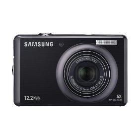 Samsung SL620 12MP Digital Camera with 5x Dual Image Stabilized Zoom and 3.0 inch LCD (Black)