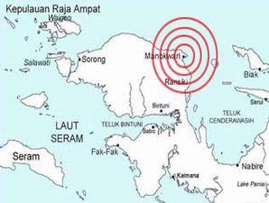 Gempa Gorontalo dan Manokwari 04 September 2009