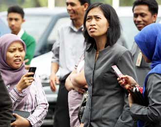 Gempa Guncang Jakarta 6,4 SR