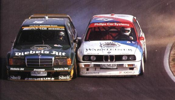 Zona R 193 Pida Antagonistas De La Historia Bmw M3 Sport Evolution Vs Mercedes 190 2 5 16 Evolution Ii