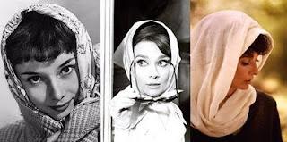 nhắn TT Audrey+hebpurn+scarf