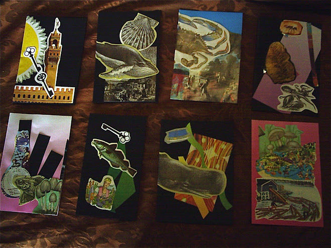 Collage cards