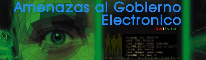 Amenazas al Gobierno Electronico