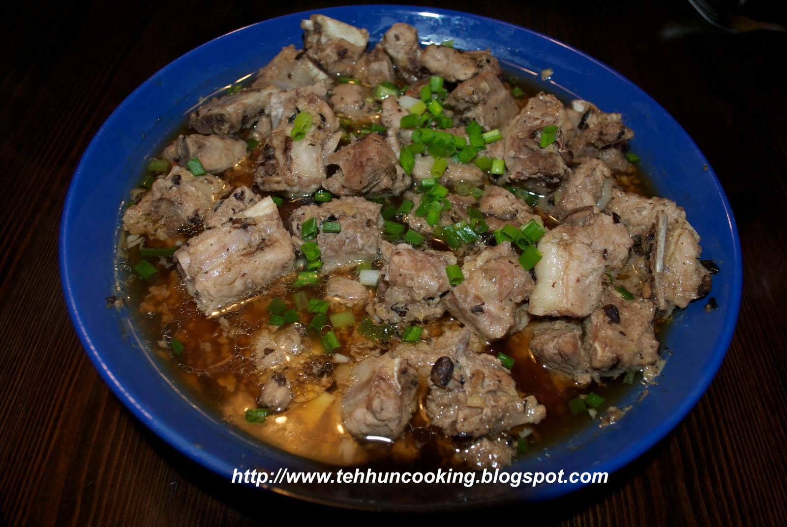tehhun's Kitchen: Steam Pork Ribs with Black Bean 豆豉蒸排骨