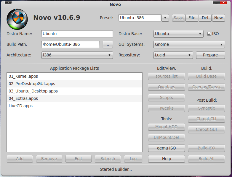 how to build your own linux distro ubuntu