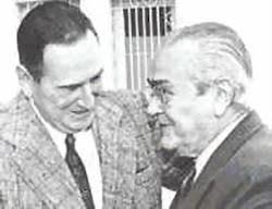 Perón con Balbín