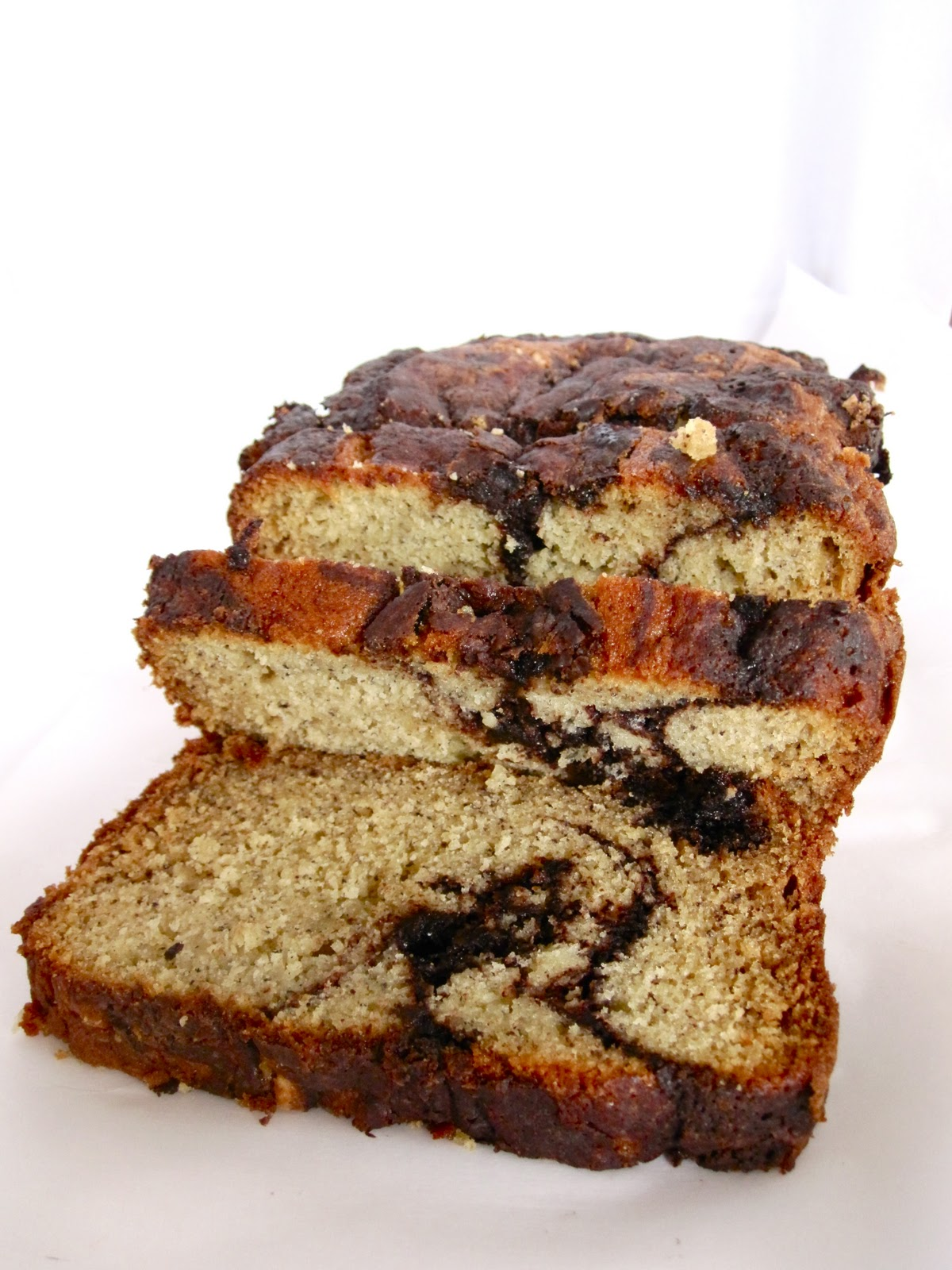 Chocolate Therapy: Chocolate Banana Marble Bread