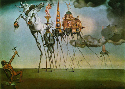 Salvador Dali The Temptation of St Anthony