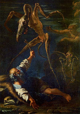 Salvator Rosa The Temptation of St Anthony