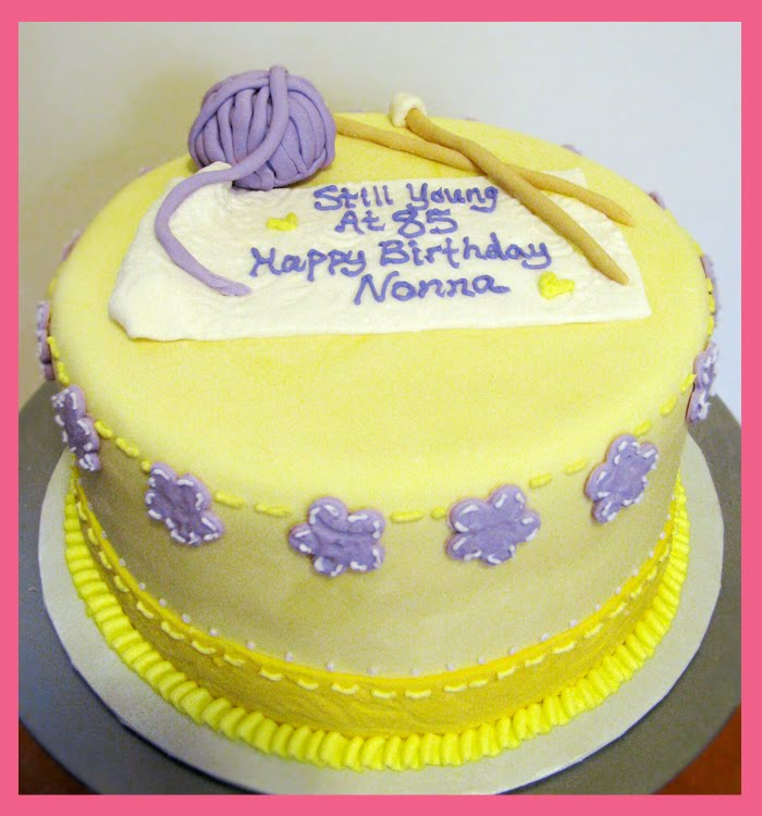 Knitting Cakes : Cupcake quest knitting cake