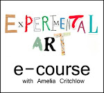 join the next experimental art e-course; Feb 1st 2014: