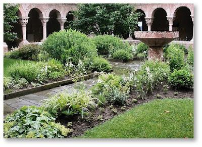 Hereu0027s A Few Examples Of Monastic Cloister Gardens: