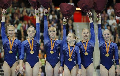 زنگ ورزش قهرمانی روسیه در ژیمناستیک زنان