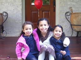 Ella, Zoe and Mattie
