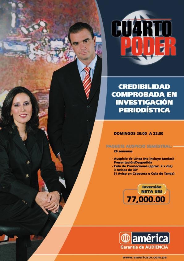 los ojos del espectador lo mejor de la television peruana