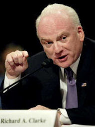 Richard Clarke testifying before the 9/11 Commission