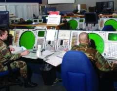 Air National Guard troops at NORAD's Northeast Air Defense Sector (NEADS)