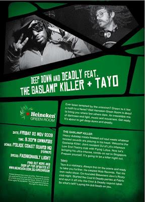 B.RAVE: Heineken Green Room 20 NOV 09
