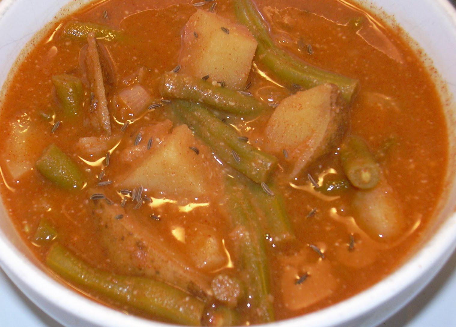 Hungarian Green Bean Soup Meatless Mama