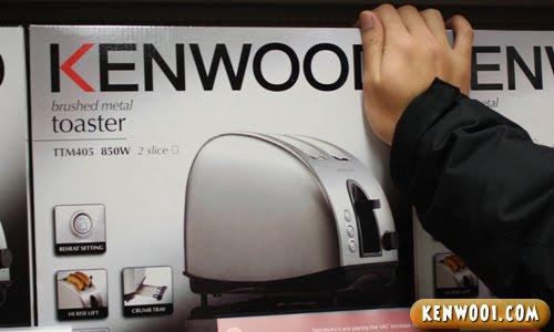 kenwooi kenwood toaster