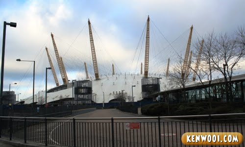 london millennium dome