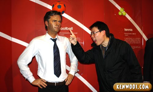 madame tussauds london jose mourinho