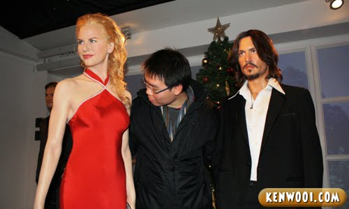 madame tussauds london nicole kidman johnny depp