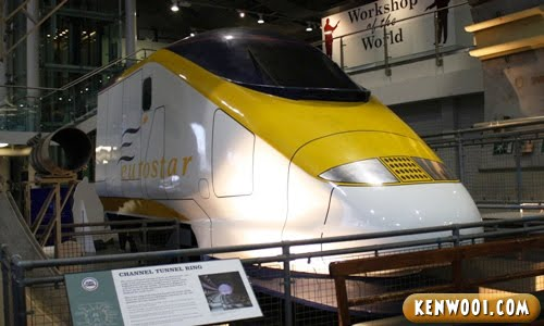york national railway museum eurostar