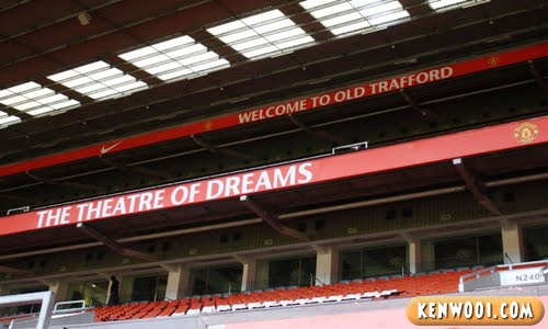 old trafford theatre of dreams
