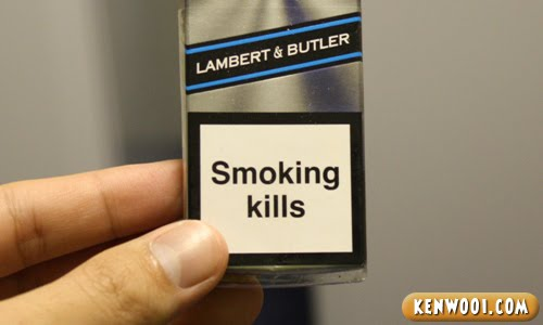 lambert and butler cigarette