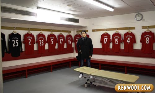 anfield chaing room