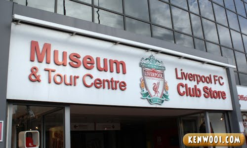 anfield museum tour