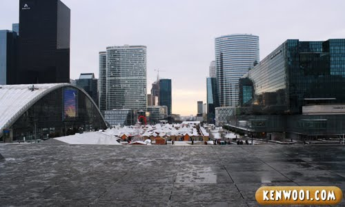 paris la defense city view