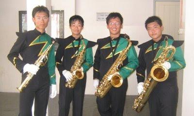 saxophone soprano alto tenor baritone