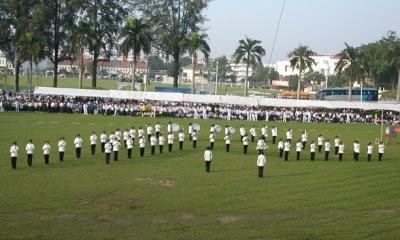 school sports day formation