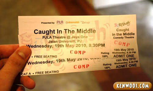 caught in the middle tickets