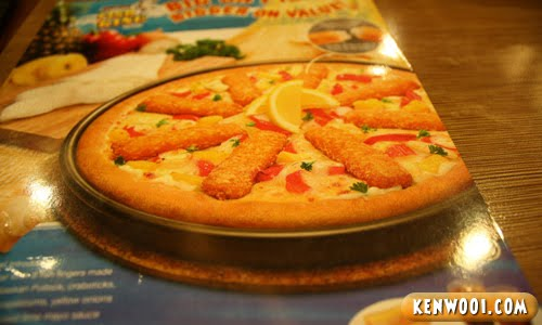 fish king pizza advert