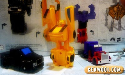 transformers bumble bee toy