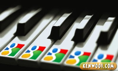 google piano keys