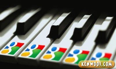 google piano keys