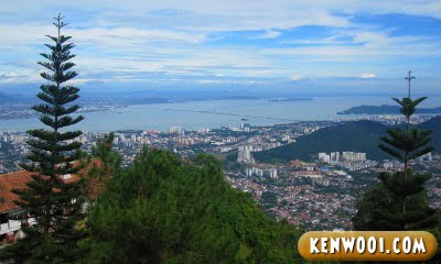 penang hill panoramic view