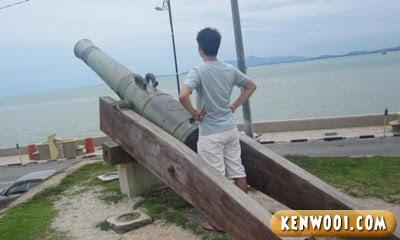 penang fort cornwallis seri rambai canon