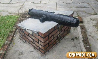 penang fort cornwallis small canon