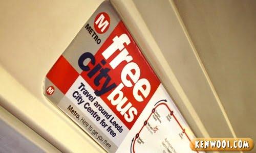 leeds free city bus