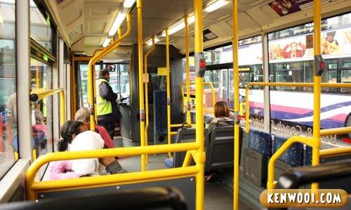 leeds free city bus inside