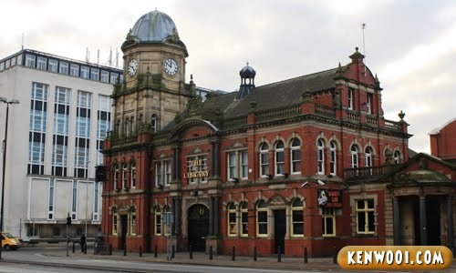 leeds the library pub