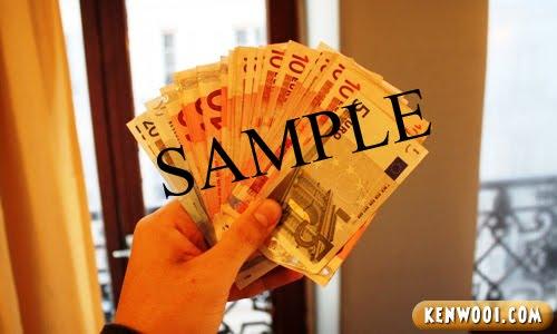 paris euro cash