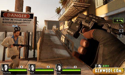 left 4 dead hand gun