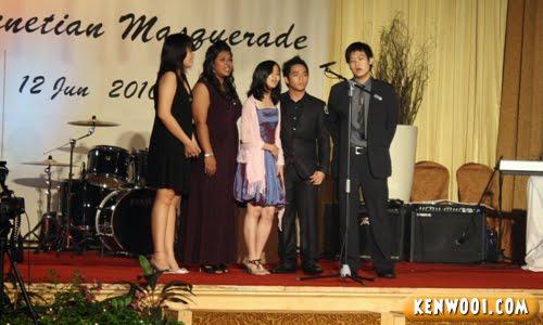 small choir group